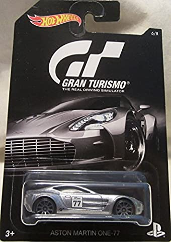 2016 Hot Wheels GRAN TURISMO ASTON MARTIN ONE-77 Limited Edition 1:64 Scale Collectible Die Cast Metal Toy Car Model! by Aston Martin