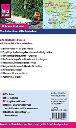 Reise Know-How Astrid Lindgrens Schweden von Bullerbü zur Villa Kunterbunt: Reiseführer für individuelles Entdecken: Alle Infos bei Amazon