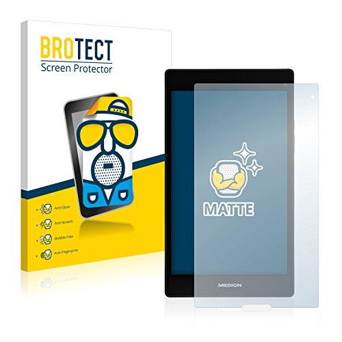 BROTECT Entspiegelungs-Schutzfolie kompatibel mit Medion Lifetab P8312 (MD 99334) (2 Stück) - Anti-Reflex, Matt
