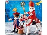 Playmobil 4893 St. Nikolaus und Knecht Ruprecht mit Pferd