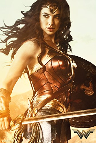 GB eye Ltd DC Comics Wonder Woman Maxi-Poster, Motiv mit Schwert -