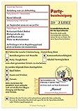 Unser-Festtag Moderne Einladungen zum Geburtstag mit Spruch - coole, lustige und witzige Karten - mit Wunschtext - 60 Karten