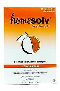 Citra Dish Auto Dish Powder - 45 oz - Valencia Orange - 2 pk