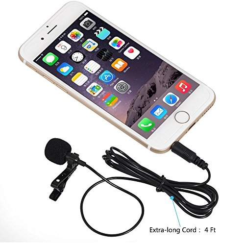 clip-on-microphone-pemotechr-lavalier-lapel-omnidirectional-condenser-mic-microphone-professional-de