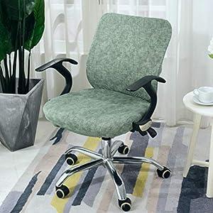 MAIAMY Spandex Stretch Stuhlbezug Anti-Dirty Slipcovers Protector Abnehmbarer Sitzbezug für Computer Stühle Sessel