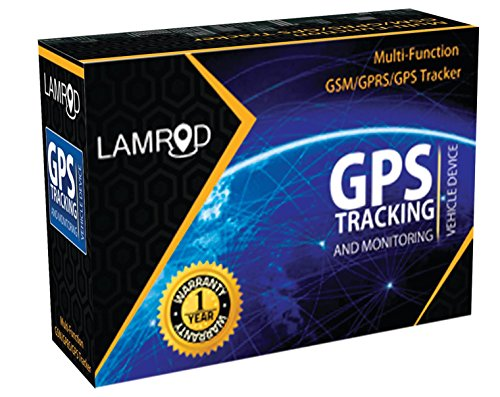 LAMROD PRIME GPS Car/Bike Tracker with lifetime free subscription