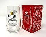 Estrella Bierglas 330 ml / 33 cl (1 Glas) – in Geschenkbox – von GarageBar