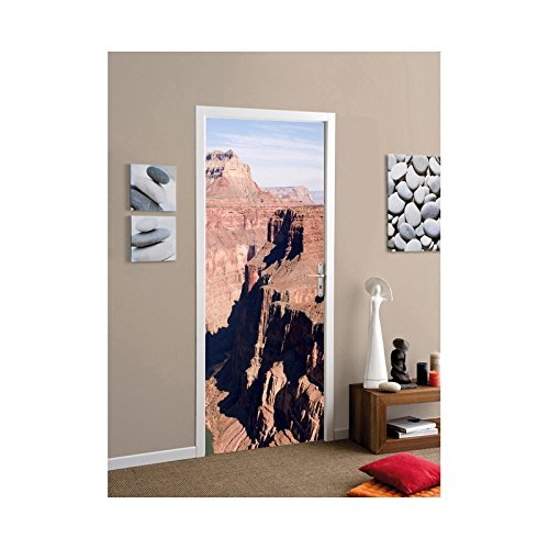 TATOUTEX Aufkleber für Tür der Grand Canyon, L 93cm x H 205cm