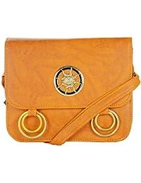 Fashionable Designer Fancy Beige Colour Sling Bag / Cross Body Bag For Girls / Ladies / Women By JG Shoppe For...