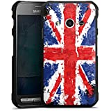 Samsung Galaxy Xcover 3 Hülle Case Handyhülle Union Jack England Flagge