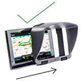 "Sun Shade & Night Anti Reflection Visor For TomTom GO PREMIUM 6 Go Basic 6 Inch GO ESSENTIAL 6"" 6200 620 Start Via 62 Trucker 6000 Professional 6250 CAMPER Visual Screen Diagonal Measurement Sat Nav"