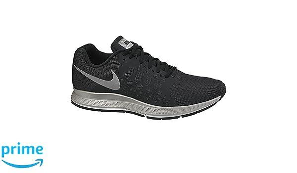 ab2995f47f43d Nike Men s Zoom Pegasus 31 Flash Black Rflslv Running Shoes-5.5  UK India(38.5EU) (683676-001)  Buy Online at Low Prices in India - Amazon.in
