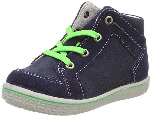 Ricosta Jungen Casi Hohe Sneaker, Blau (Nautic), 21 EU