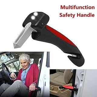 Ocamo Car Safety HandyBar Handle Door Aider Handles Assist Bar Parts Window Breaker