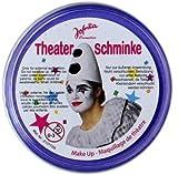 NET TOYS Schminke blau Karnevalsschminke blaue Theaterschminke Faschingsschminke Make up