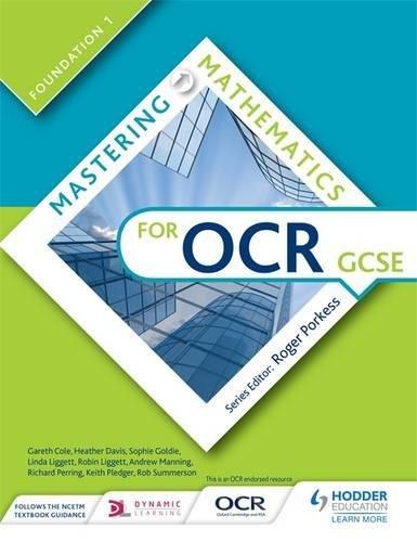 Mastering mathematics for OCR GCSE. Foundation 1.