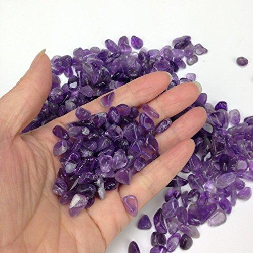 Gravilla de piedras de vidrio brillantes y coloridas