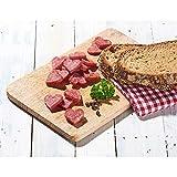 Salami Mini Herzchen - original Wurst Snack aus Bayern - 16 Packungen mit je 50 g im Karton
