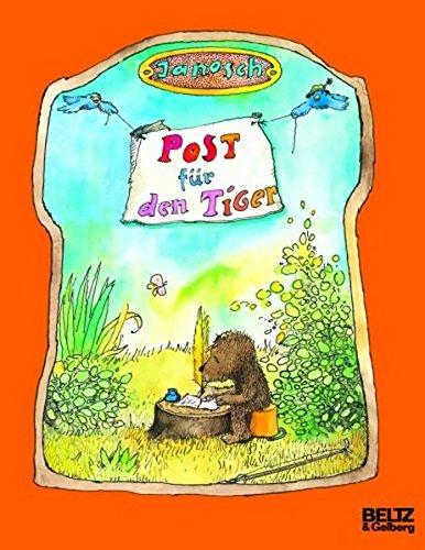 Preisvergleich Produktbild Post für den Tiger: Die Geschichte, wie der kleine Bär und der kleine Tiger die Briefpost, die Luftpost und das Telefon erfinden (MINIMAX)