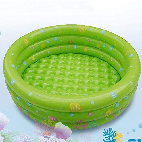 XSWZAQ Schwimmen im aufblasbaren Innenkindermeeresballluxus des kleinen Swimmingpools der Wassersommerfamilie (Color : Green)