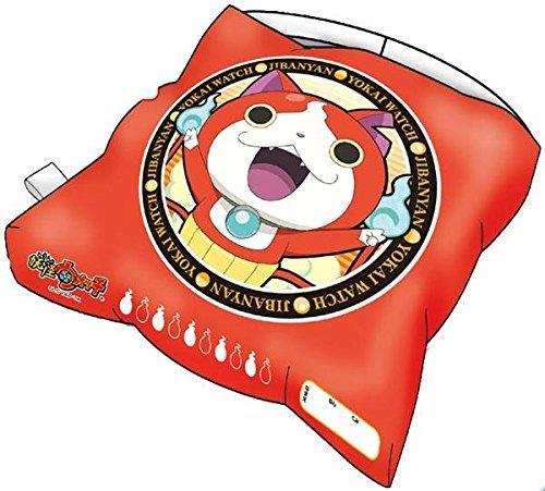 Yokai Kostüm - Yokai Uhr Schulkinder Kissen Rot