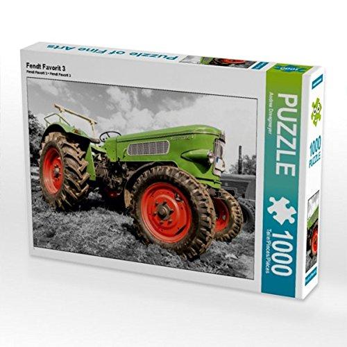 Fendt Favorit 3 1000 Teile Puzzle quer