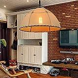 GHC LED Lights, Sand Fabric Drum Shade & Glasdiffusor Moderner Kronleuchter, Bronze-Finish mit Ölbeschlagen (Farbe : Warmweiß)
