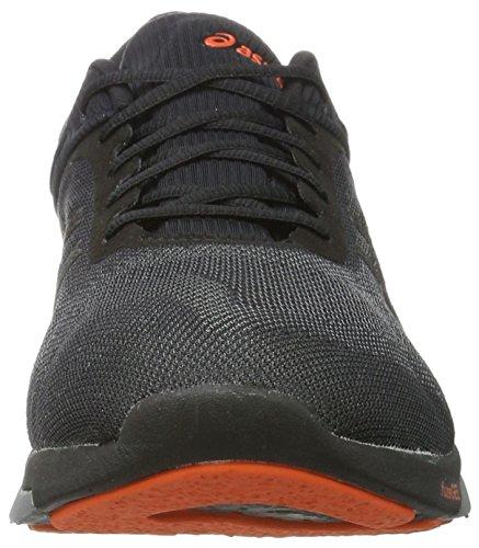 Asics FuzeX Rush, Chaussures de Running Compétition Homme Black (Black/carbon/cherry Tomato)