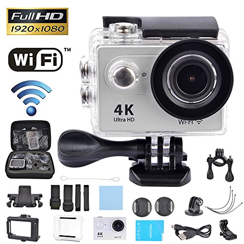 COOAU-4K-Sport-Action-Camera-Underwater-Water-resistant-Camera-Ultral-HD-12MP-Built-in-WiFi-20-LCD-Screen-170-Ultra-Wide-Angle-Dual-1050mAh-Batteries-With-Waterproof-Case-and-Mounting-Accessories-in-P