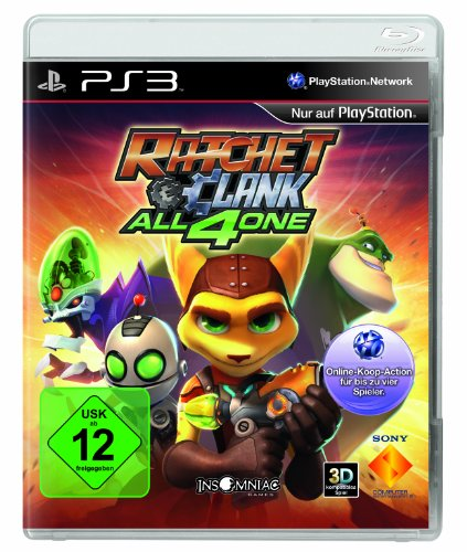 Ratchet + Clank: All 4 One