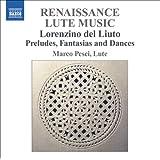 Lorenzino Del Liuto: Lute Music