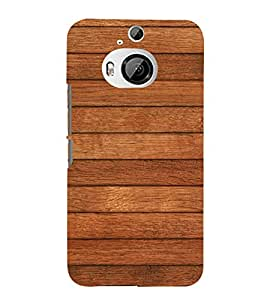 99Sublimation Wooden Stripes Background 3D Hard Polycarbonate Back Case Cover for HTC One M9 Plus