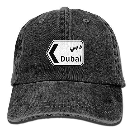 Kotdeqay Men Women Classic Denim Dubai Adjustable Baseball Cap Papa Hut Low Profile Perfect for Outdr 31903