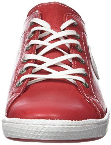 Pataugas Jayo, Baskets Basses Femme Rouge (Rouge)