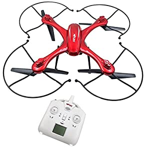 Ocamo MJX X102H RC Quadcopter with Camera Mounts for Gopro/SJ Camera Upgraded X101 Drone Red
