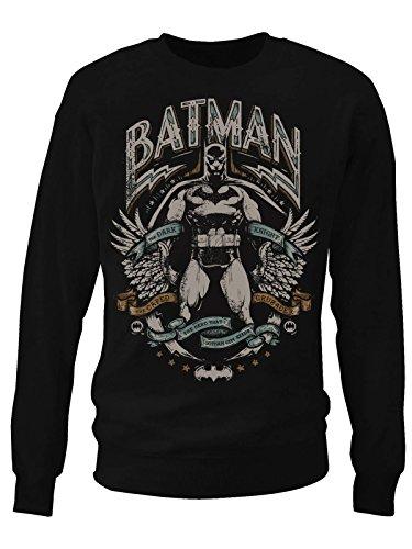 Dark Knight Crusader Sweatshirt (Black) Medium