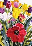 Home Garden Beste Deals - Toland Home Garden Tulpengarten, Bunt