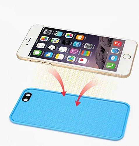"Sunroyal iPhone 6 6S 4.7"" Hülle Silver Silber TPU Case Schutzhülle Silikon Rückseite Klar Clear Case Durchsichtig Bumper Zurück Bling Crystal Kirstall Diamant Strass Rhinestone Frame Rahmen Grün"