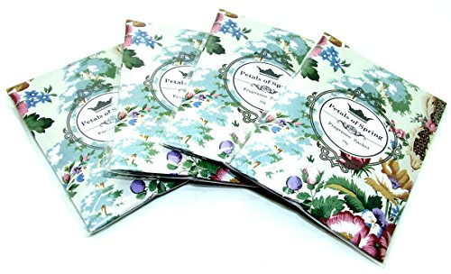 10g klein Petals Of Spring Duftsäckchen-4Pack Duft Beuteln-Home Duft-Potpourri