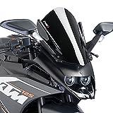 Racingscheibe Puig KTM RC 390 14-18 schwarz