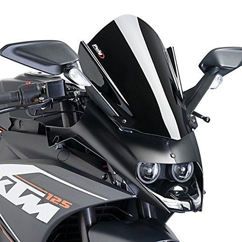 Racingscheibe Puig KTM RC 125 14-16 schwarz
