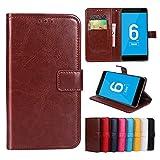 Funda® Flip Brieftasche Hülle für Vernee Mars Pro(Muster 8)