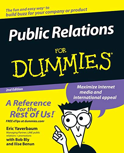 Public Relations For Dummies, 2nd Edition (For Dummies Series)