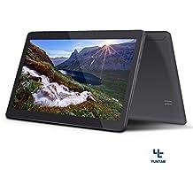 YUNTAB Tablet 3 G 10.1 Pulgadas Quad Core Android 5.1 Quad Core 1,3 GHz IPS dos SIM Tarjetas cámara Dual 16 GB ROM GPS WIFI Tablet para Internet y llamada 5000 mAh batería (Negro)