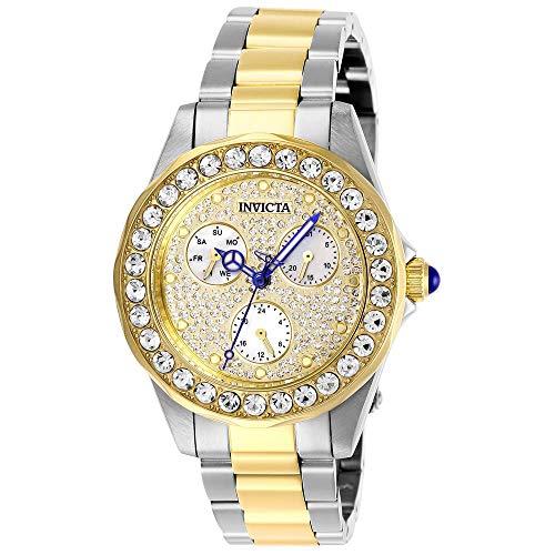 Invicta Angel orologio da polso da donna 38mm braccialetto zweifaerbiger Acciaio Inossidabile Quarzo 28458