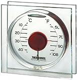 Koch 10212 Deko-Thermometer Magic Ball, rot