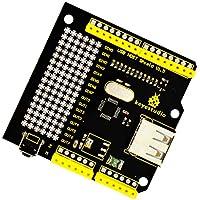 Magideal Keyestudio USB Host Shield para Arduino Uno Mega Support Google Android ADK