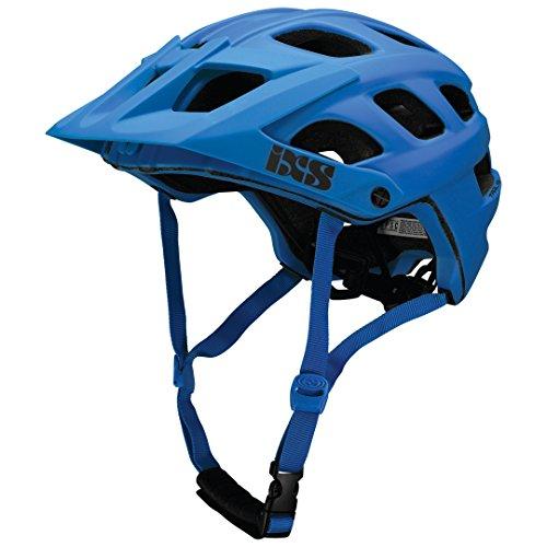 IXS Trail Helm MTB Unisex Erwachsene, Blau Neon, 58-62 cm