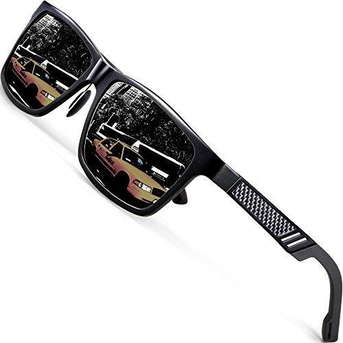 ATTCL Unisex Stil Polarisierte Fahren Sonnenbrille Herren Damen 16560black