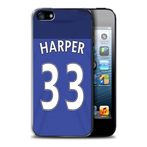 Officiel Sunderland AFC Coque / Etui pour Apple iPhone SE / Pack 24pcs Design / SAFC Maillot Domicile 15/16 Collection Harper